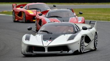 The Ferrari FXXK, which Chris Harris will drive in the new series, also the first motoring journalist to do so.