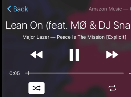 Amazon Music is now on Apple CarPlay