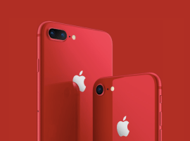 Apple launches (PRODUCT) RED iPhone 8 and iPhone 8 Plus