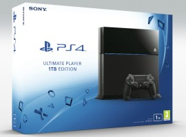 Sony PS4 1TB will be £350 in the UK, same as Xbox One