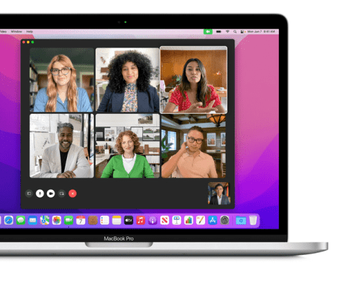 FaceTime now has a new grid mode