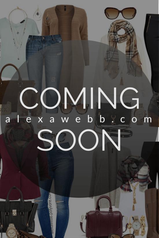 alexawebb.com - Plus Size Blog - Coming Soon