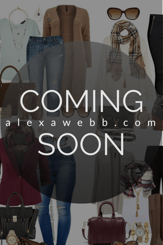 alexawebb.com - Plus Size Blog - Coming Soon
