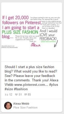 Should I Start A Plus Size Fashion Blog - Alexa Webb
