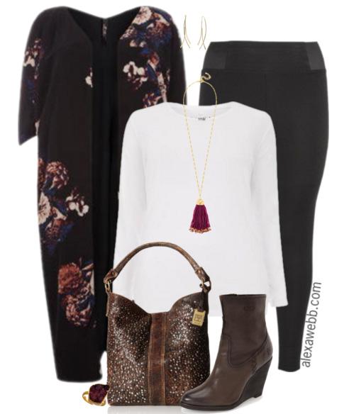 Plus Size Fashion - Plus Size Leggings Outfit - Alexa Webb - alexawebb.com