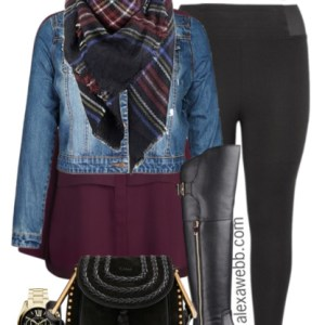 Plus Size Fashion - Plus Size Outfit - Plus Size Leggings - Alexa Webb - alexawebb.com