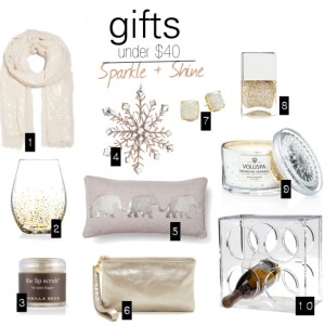 Gifts under $40 - Gift Guide - Alexa Webb - alexawebb.com