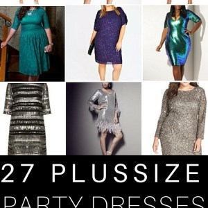27 Plus Size Party Dresses with Sleeves {that rock!} - Alexa Webb - Plus Size Fashion #alexawebb