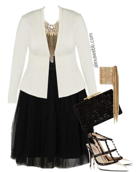 49ffc451503 Plus Size Outfit - Plus Size Tutu - Plus Size Fashion for Women - Alexa Webb