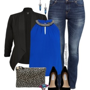 Plus Size Night Out Outfit - Plus Size Fashion for Women - Alexa Webb - alexawebb.com