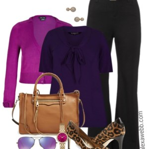 Plus Size Work Outfit - Plus Size Fashion for Women - Alexa Webb - alexawebb.com