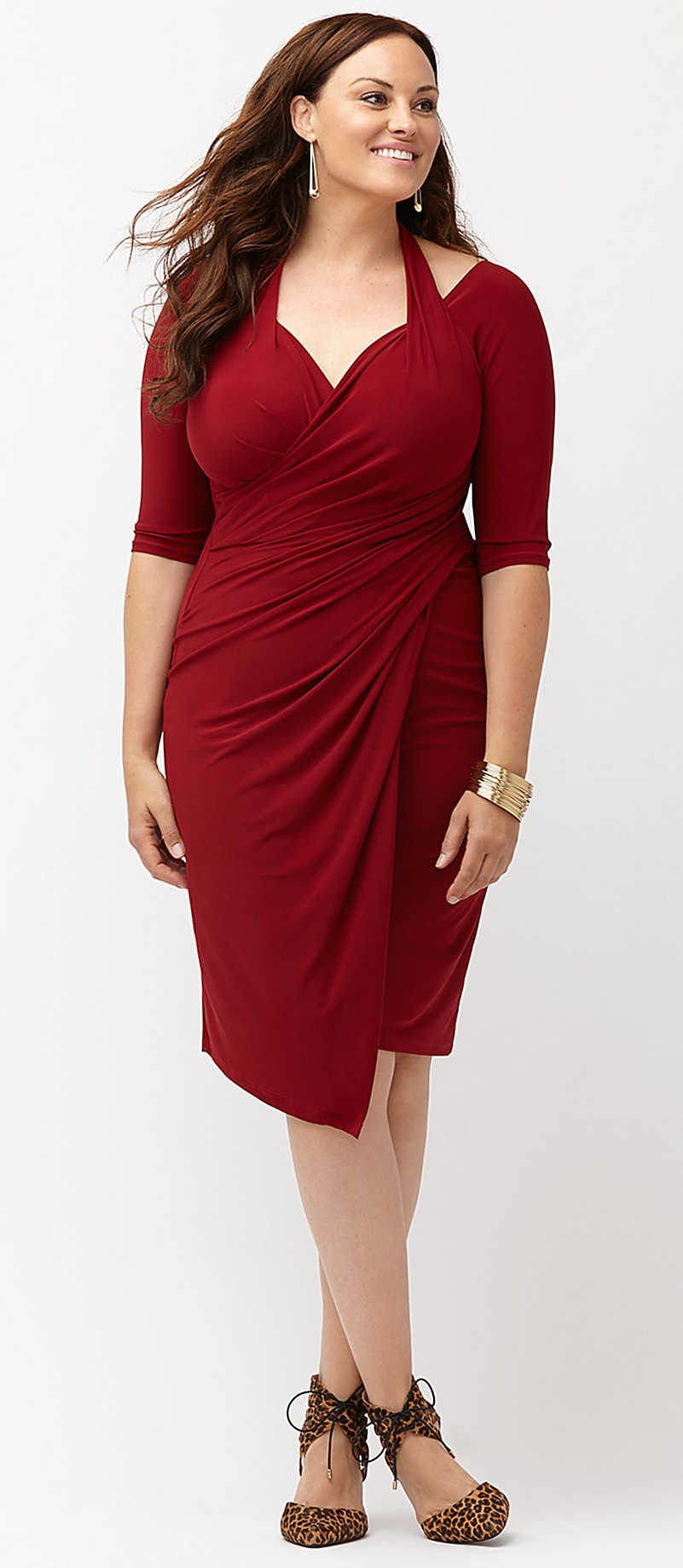 Plus Size Red Dresses   Plus Size Valentineu0027s Day Date Dresses    Alexawebb.com #