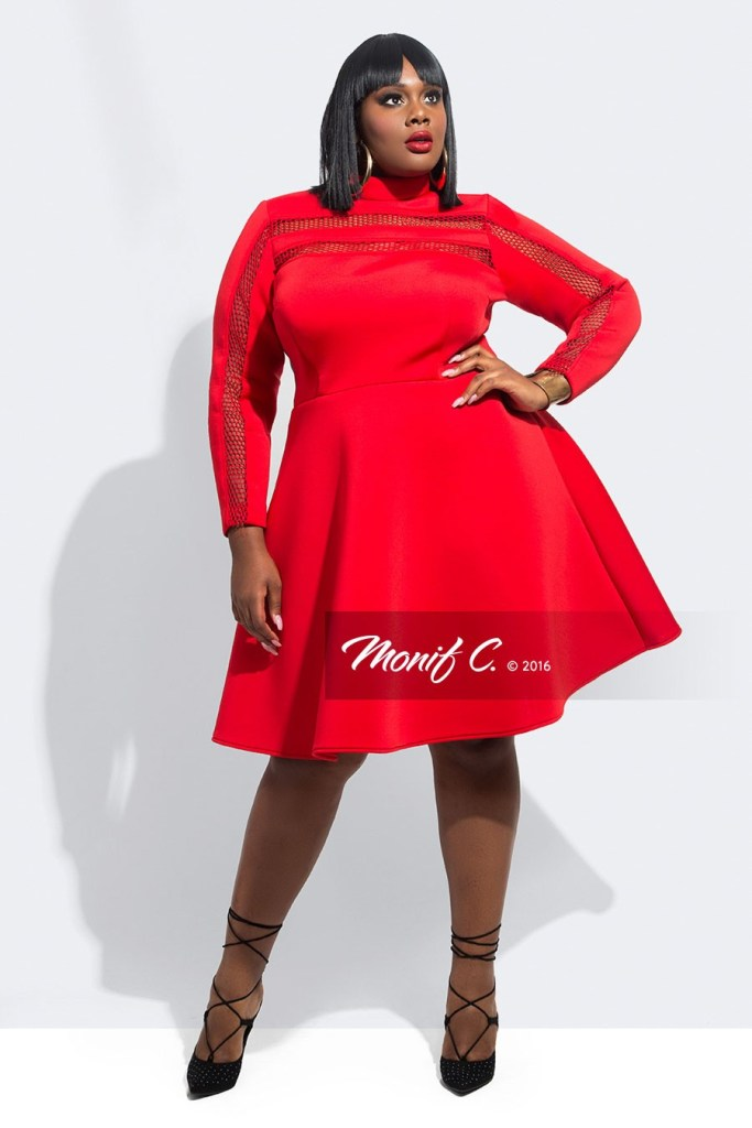 0f05ef0d87 Plus Size Red Dresses with Sleeves - Plus Size Valentine s Day Date Dresses  - alexawebb.