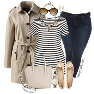 Plus Size Outfit Idea - Plus Size Jeans - Plus Size Fashion for Women - alexawebb.com #alexawebb #plus #size