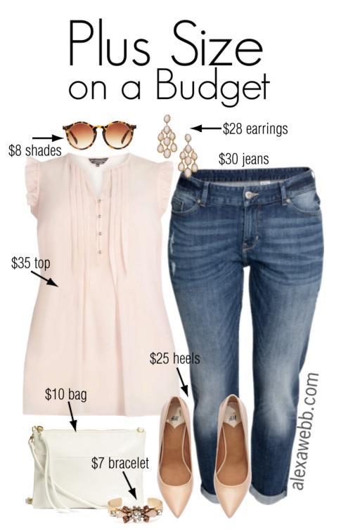 6a416a5e5e Plus Size Budget Outfit Idea - Plus Size Jeans - Plus Size Fashion for Women  -