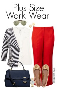 Plus Size Work Wear - Plus Size Fashion for Women - Plus Size Work Outfit #alexawebb #plus #size