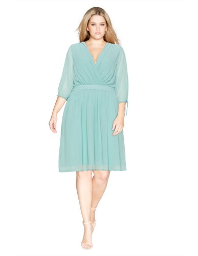 33 Plus Size Wedding Guest Dresses {with Sleeves}! - Alexa Webb