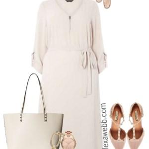 Plus Size Work Dress Outfit - Plus Size Fashion for Women - alexawebb.com #alexawebb