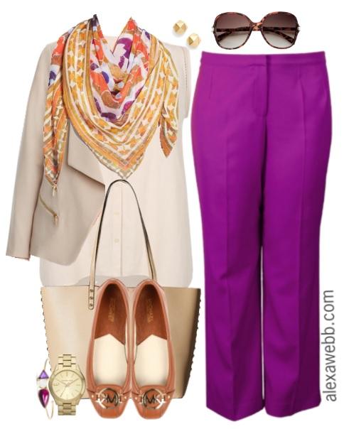 Plus Size Work Outfit - Plus Size Work Wear - Plus Size Fashion - alexawebb.com