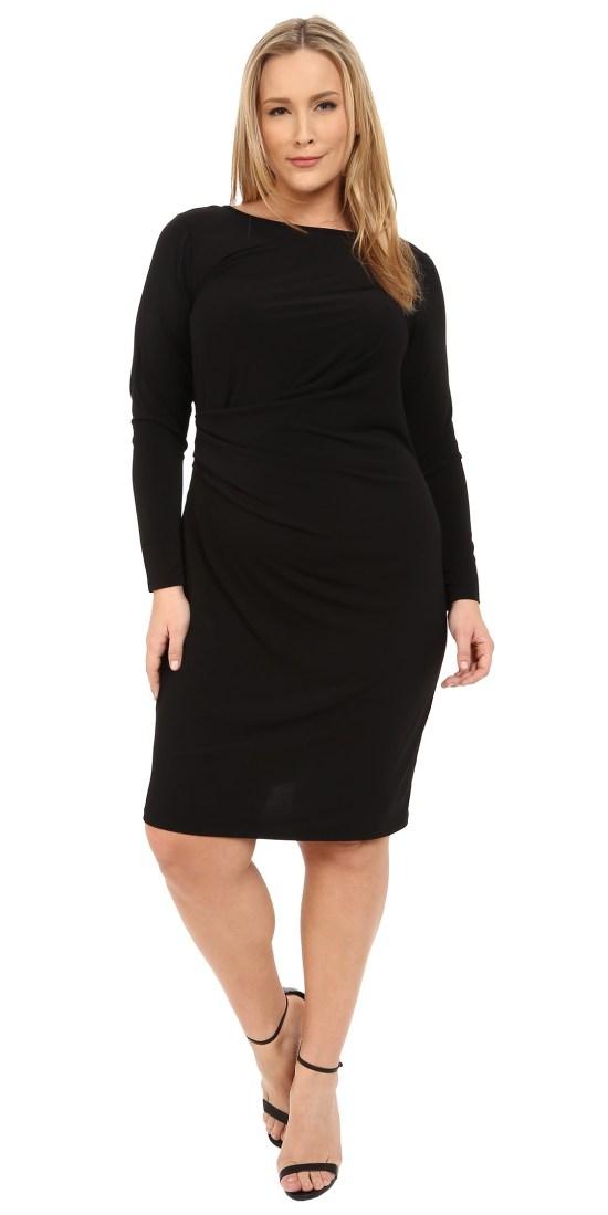 18 Plus Size Black Dresses with Sleeves - Plus Size LBD - Plus Size Fashion - alexawebb.com