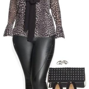 Plus Size Happy Hour Outfit - Plus Size Fashion for Women - alexawebb.com #alexawebb