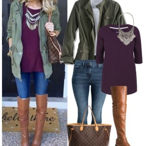Straight Size To Plus Size – Fall Casual Outfit - Plus Size Fashion for Women - alexawebb.com #alexawebb