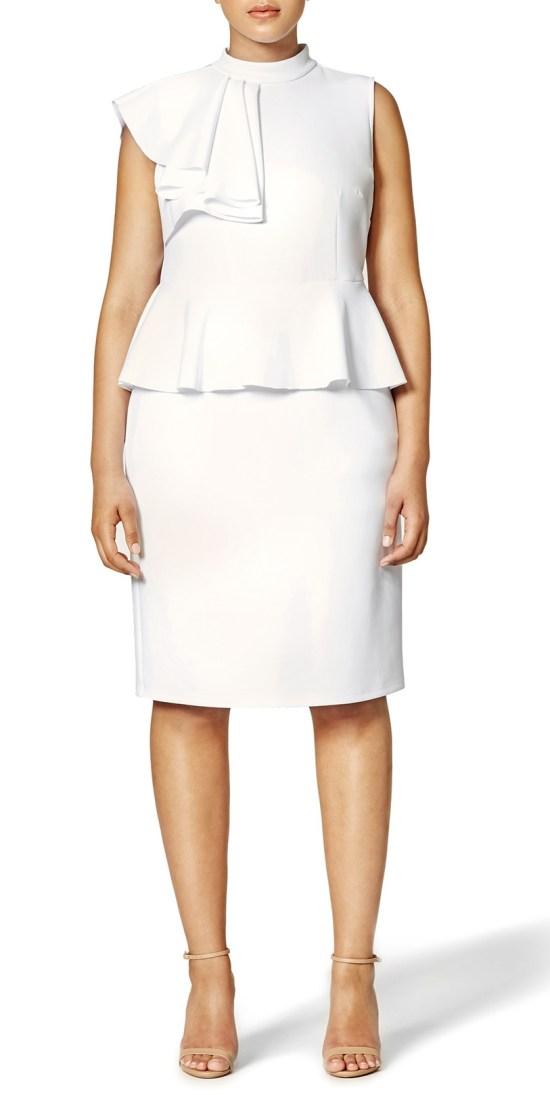 135cc8148db 12 Plus Size White Party Dresses - Plus Size Bachelorette Party Dresses - Plus  Size Bridal