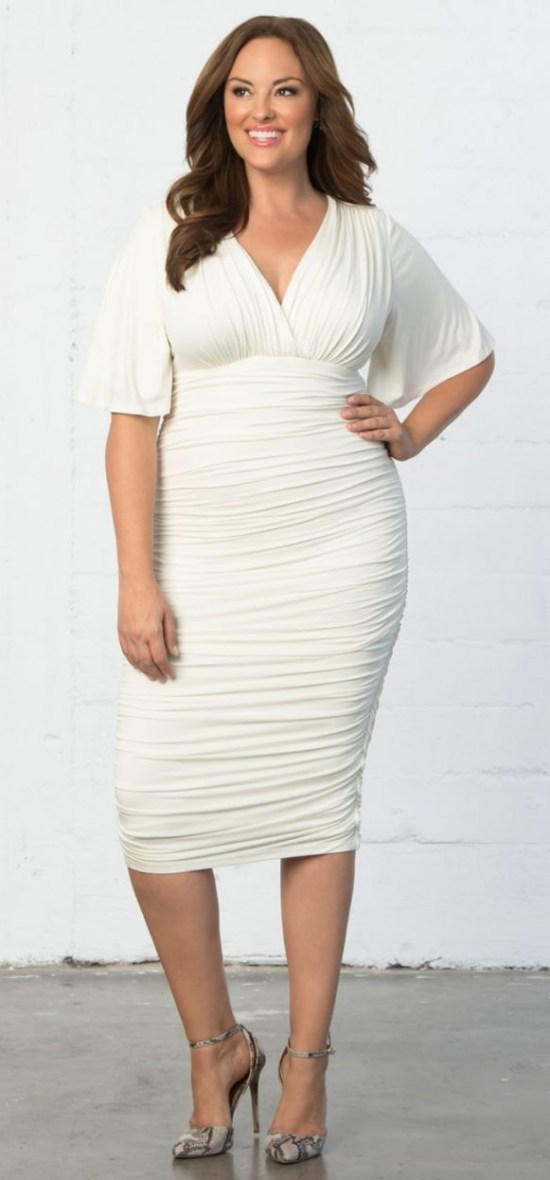 12 Plus Size White Party Dresses Alexa Webb