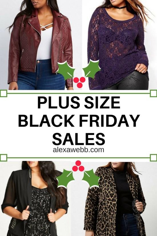 Plus Size Black Friday Sales!