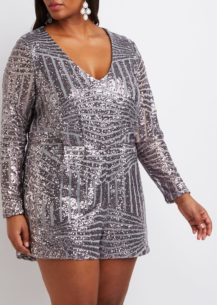 27 Plus Size Sequin Dresses {with Sleeves} - Alexa Webb