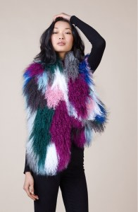 Monogolian Lamb Fur Stole
