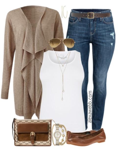 3b2ea9c65b9 Plus Size Waterfall Cardigan Outfit - Plus Size Fashion for Women -  alexawebb.com