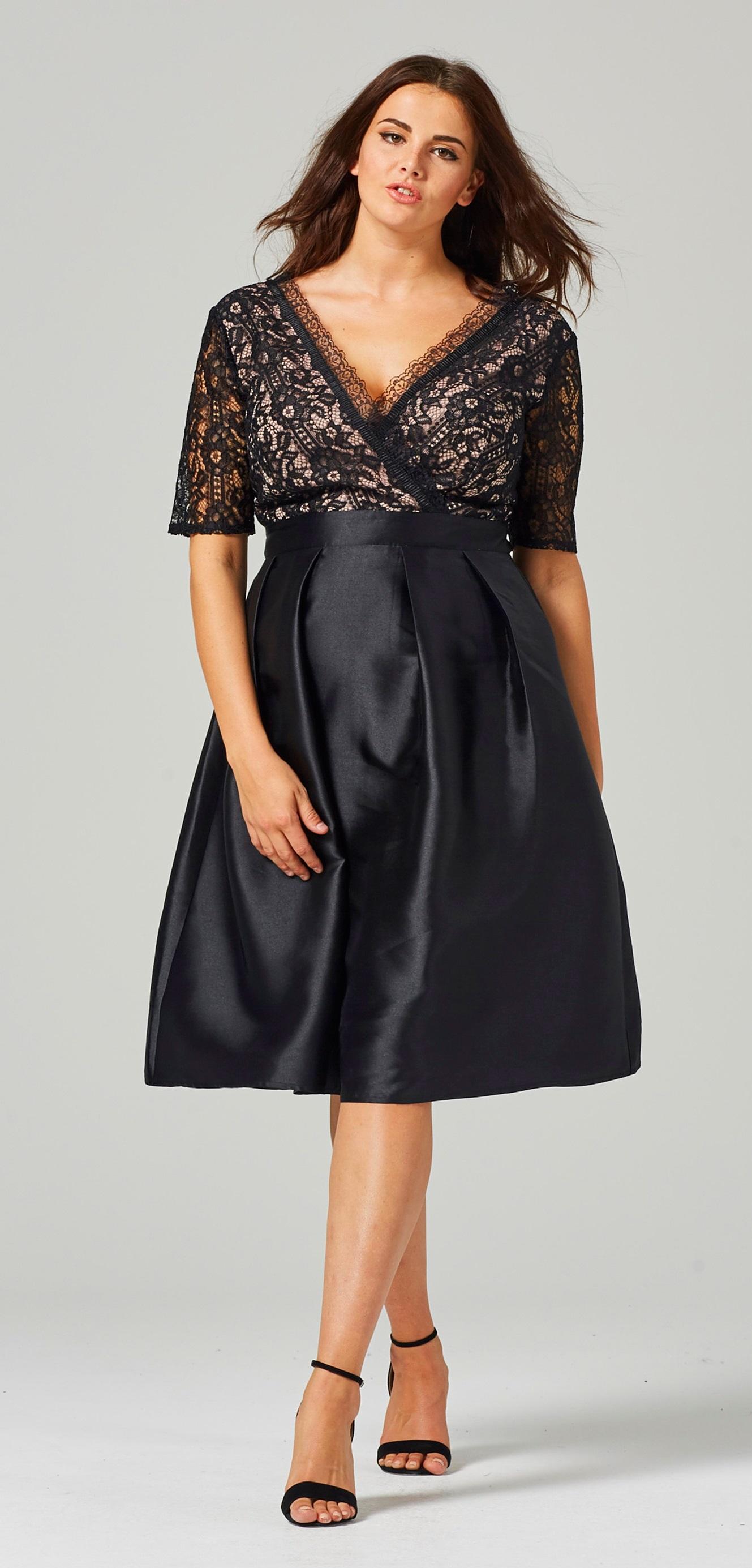 Plas Size Short Dresses for Evening Weddings