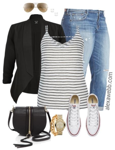 Plus Size Summer Casual Outfit - Plus Size Fashion for Women - alexawebb.com #alexawebb