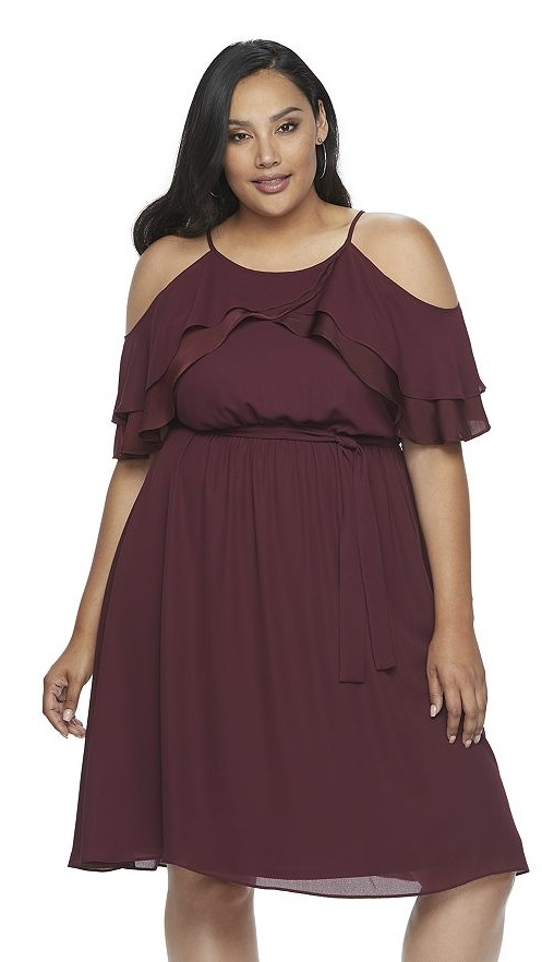 55 Plus Size Wedding Guest Dresses {with Sleeves}   Plus Size Cocktail  Dresses