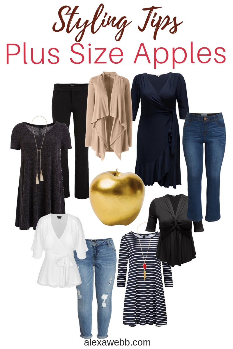 Styling Tips for Plus Size Apple Shapes