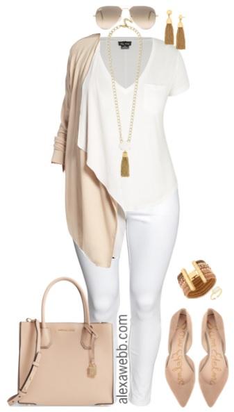7e59f9bc1e2 Plus Size Fall Transition Outfit - Plus Size Casual Outfit - Plus Size  Fashion for Women