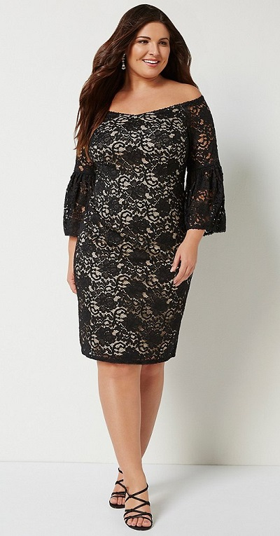 33 Plus Size Wedding Guest Dresses {with Sleeves} - Alexa Webb