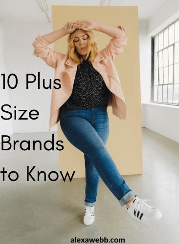 Plus Size Brands to Know - Addition Elle Plus Sizes - #plussize #alexawebb