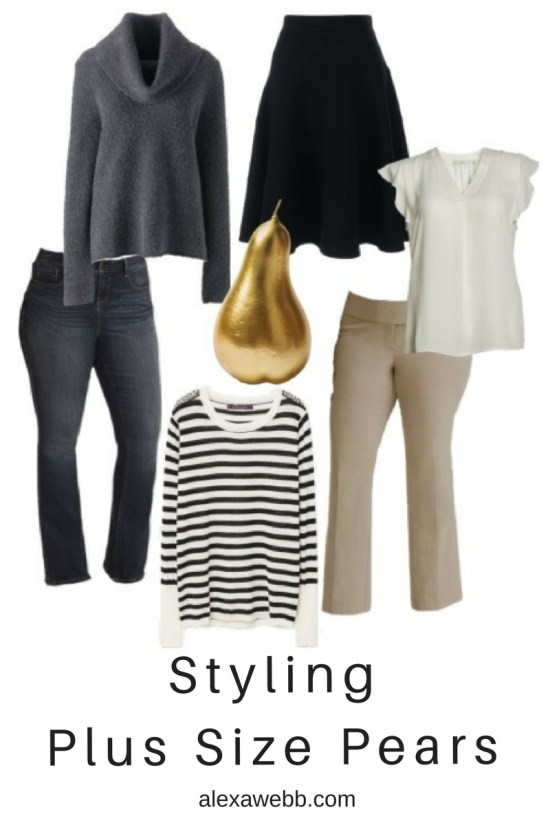 Styling Tips for Plus Size Pear Shapes - Alexa Webb