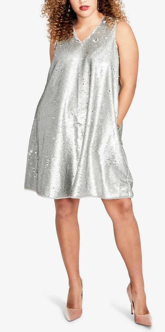 30 Plus Size Sequin Dresses - Alexa Webb