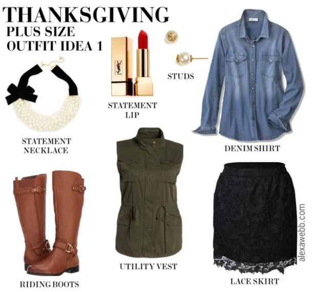 Plus Size Thanksgiving Outfits - Plus Size Holiday Outfit - Plus Size Fall Outfits - Plus Size Fashion for Women - alexawebb.com #alexawebb #plussize