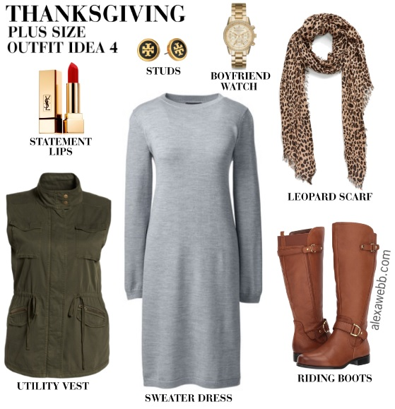 Plus Size Thanksgiving Outfits - Part 2