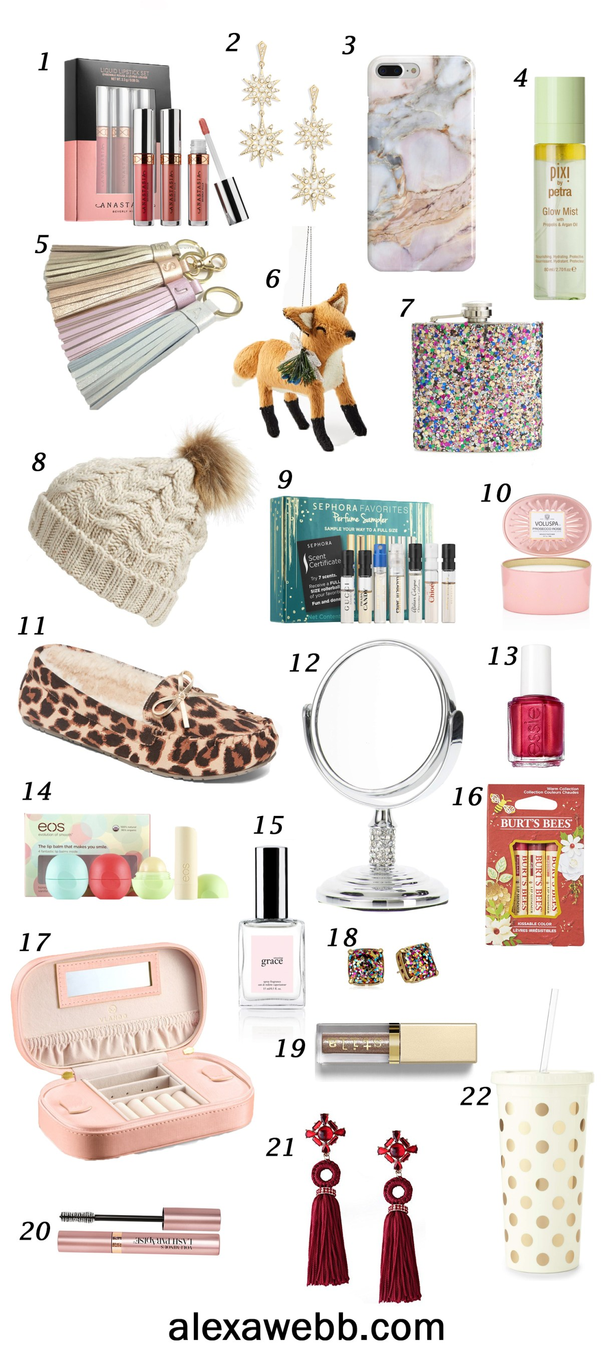 christmas gift ideas for her under 25 christmas gifts on a budget alexawebb - Christmas Gifts Under 25