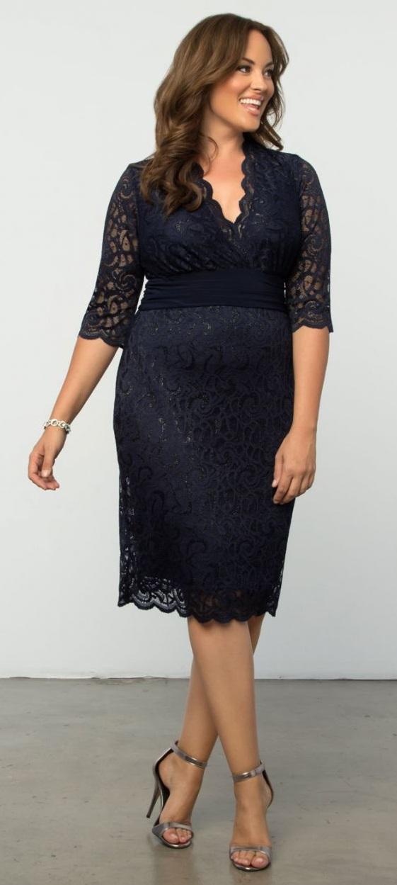 plus size fasion cocktail dresses