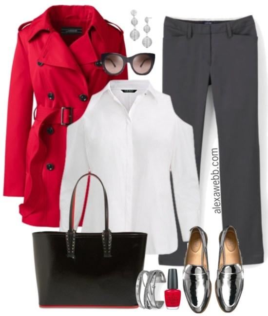 Plus Size Trendy Work Outfit - Plus Size Work Wear - Plus Size Fashion for Women - alexawebb.com #plussize #alexawebb