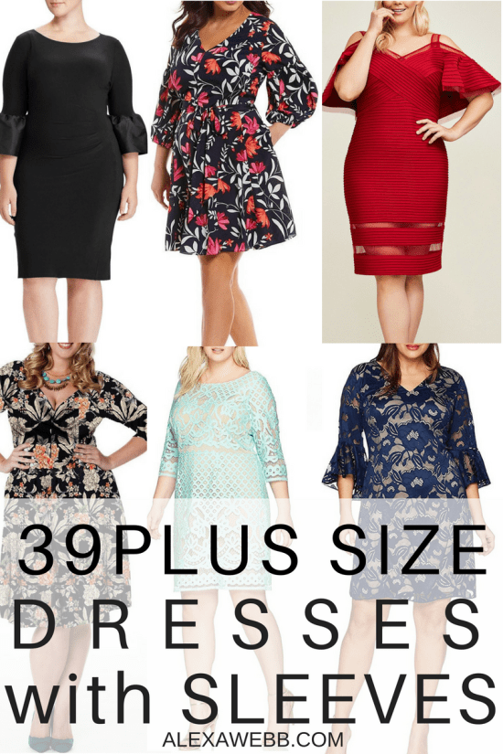 e5dc48ac4fc2 39 Plus Size Spring Wedding Guest Dresses  with Sleeves  - Plus Size Party  Dress