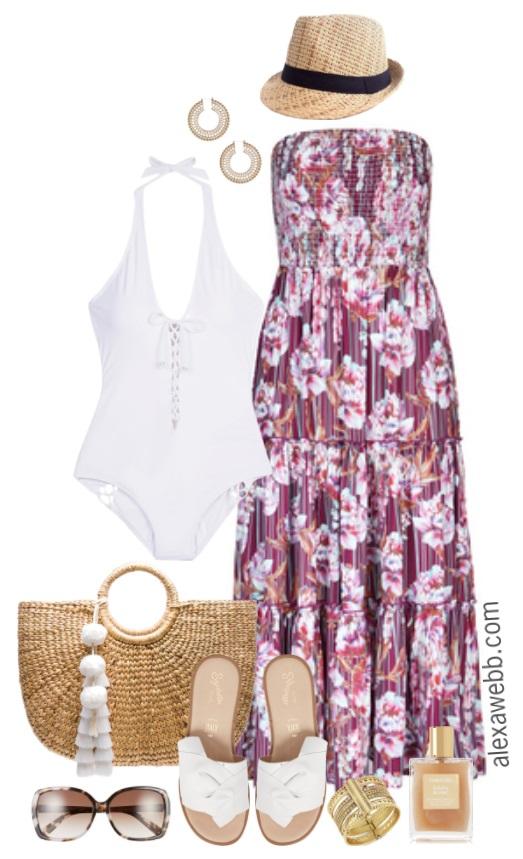 Plus Size Vacation Outfits - Plus Size Outfit Ideas - Plus Size Fashion for Women - alexawebb.com #alexawebb