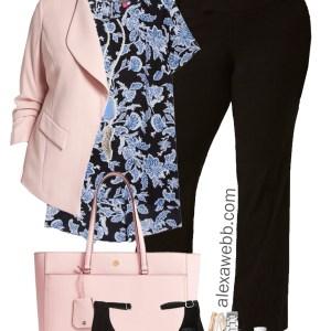 Plus Size Spring Work Outfit - Plus Size Workwear - Plus Size Fashion for Women - alexawebb.com #alexawebb #plussize #plussizeworkwear