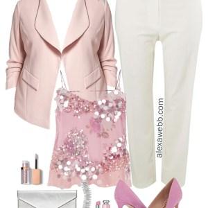 Plus Size Summer Night Out Outfit - Plus Size Fashion for Women - alexawebb.com #alexawebb #plussize